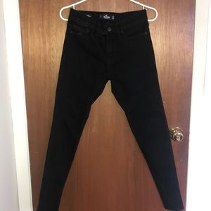 Hollister super skinny black jeans size 28